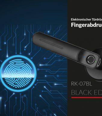 Fingerabdruck-Türgriff